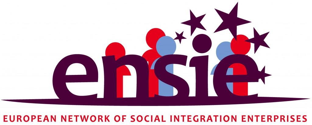 Das Logo von ENSIE, dem europäischen Netzwerk von Sozialen Integrationsunternehmen